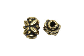 Leaf Bead - Gold Plated