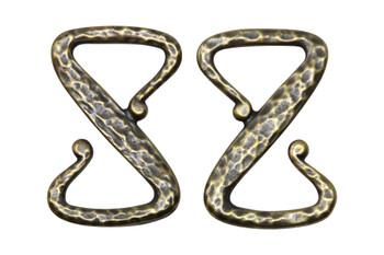 Z Hook - Brass Plated