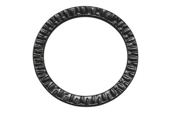 1.25-inch Radiant Ring - Black Plated