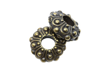 Casbah Euro Bead  - Brass Plated