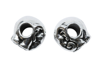 Elephant Euro Bead - Silver Plated