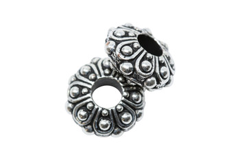 Casbah Euro Bead  - Silver Plated