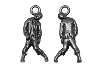Zombie Charm - Black Plated