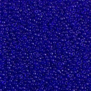 Size 15 Miyuki Seed Beads -- 151 Transparent Sapphire