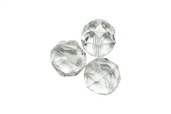 Crystal AAA Grade Polished 16mm Faceted Round
