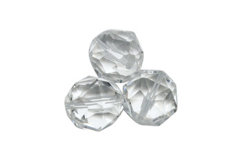 Crystal AAA Grade Polished 14mm Japanese Cut Faceted Round