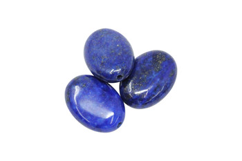 Lapis Polished 18mm Oval