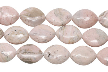Rhodochrosite Polished 15x20mm Horse Eye