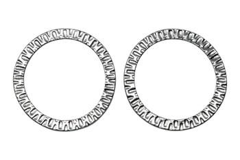 1.25-inch Radiant Ring - Rhodium Plated