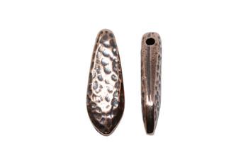 Hammertone Dagger Bead - Copper Plated