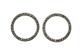 Hammertone 1-inch Ring - Brass Plated