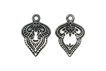 Mehndi Charm - Silver Plated
