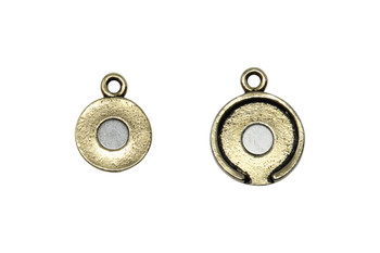 Lotus Magnetic Clasp - Gold Plated