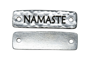 Namaste Link - Silver Plated