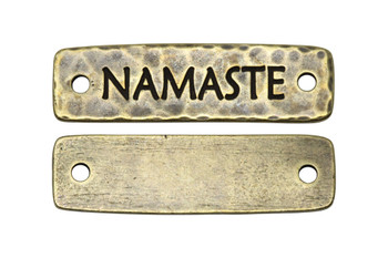 Namaste Link - Brass Plated