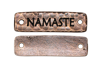 Namaste Link - Copper Plated
