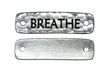 Breathe Link - Silver Plated