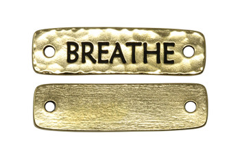 Breathe Link - Gold Plated