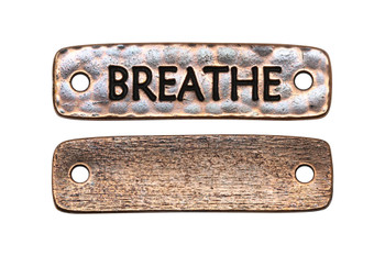 Breathe Link - Copper Plated