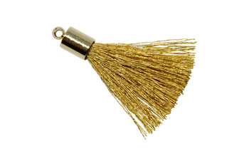 Gold 27-30mm Tassel with Gold Cap
