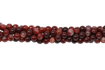 Ruby Fire Agate Polished 6mm Round