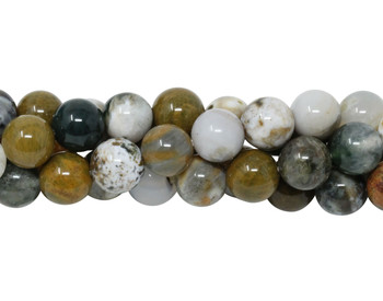 Ocean Jasper Polished 8mm Round