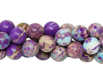Impression Jasper Dyed Polished 10mm Round