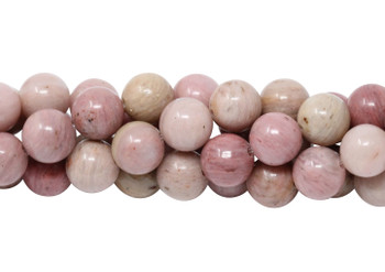 Natural Rhodonite Polished 8mm Round