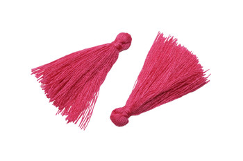 Hot Pink 35mm Cotton Tassel