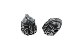 Stainless Steel 10x12mm Knight Bead