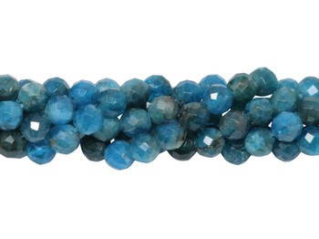 Apatite Polished 5mm Faceted Round