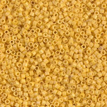Delicas Size 11 Miyuki Seed Beads -- 2102 Duracoat Opaque Banana