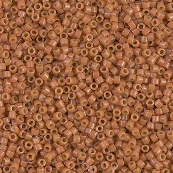 Delicas Size 11 Miyuki Seed Beads -- 2107 Duracoat Opaque Cedar