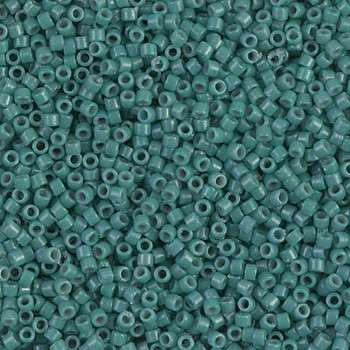 Delicas Size 11 Miyuki Seed Beads -- 2131 Duracoat Opaque Eucalyptus