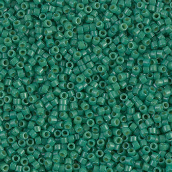 Delicas Size 11 Miyuki Seed Beads -- 2127 Duracoat Opaque Spruce
