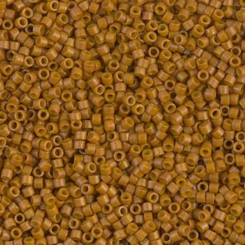 Delicas Size 11 Miyuki Seed Beads -- 2110 Duracoat Opaque Toast