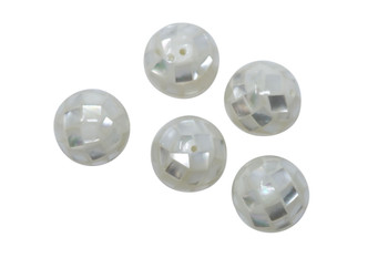 Mother of Pearl Oyster Mosaic 14mm Round