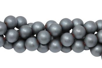 Hematite Matte 12mm Round