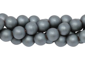 Hematite Matte 10mm Round