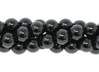 Black Onyx A Grade Polished 10mm Round