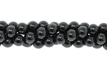 Black Onyx A Grade Polished 10mm Round
