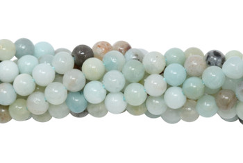 Amazonite Multi Color Polished 3mm Round