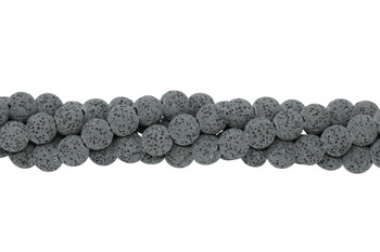 Bead World Exclusive Lava Rock Uncoated 8-9mm Round