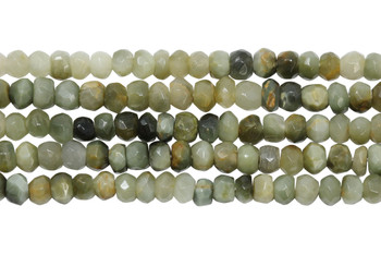 Cat's Eye / Chrysoberyl Polished 4mm Faceted Rondel