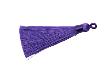 Royal Purple 3 Inch Tassel
