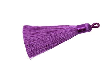 Bright Purple 3 Inch Tassel