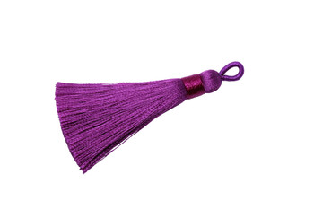 Bright Purple 2.5 Inch Tassel