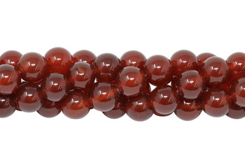 Dark Carnelian Grade A Polished 12mm Round