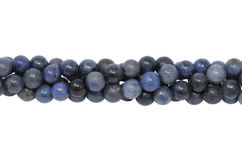 Dumortierite A Grade Polished 6mm Round