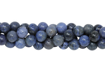 Dumortierite A Grade Polished 8mm Round